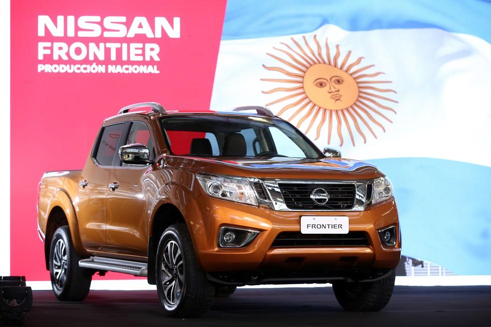 Nissan Frontier começou a ser produzida na Argentina (Foto: Nissan/Divulgação)