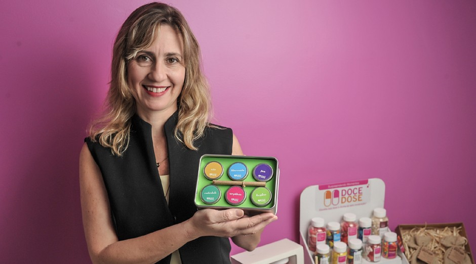Carla Storelli: crescimento fez a Doce Dose virar microempresa (Foto: Sebrae-SP)
