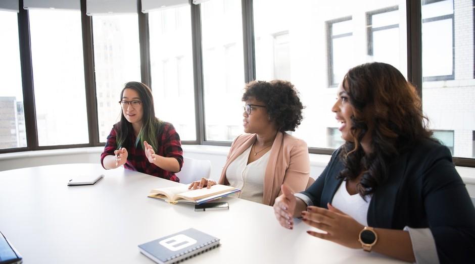 Mulheres; Empreendedoras; Reunião (Foto: Pexels)