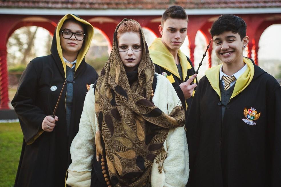 -  Harry Potter é tema de atividades do Dia das Crianças em Poços de Caldas  MG .  Foto: Divulgação