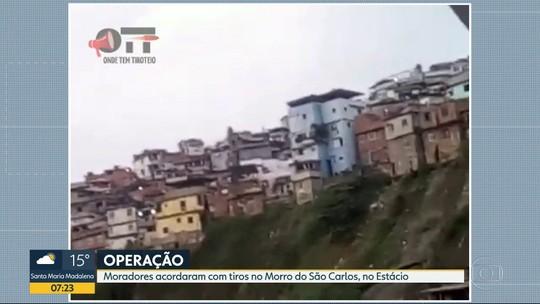 Delegacia de Combate às Drogas faz operação no Morro de São Carlosna
