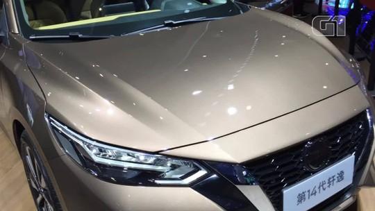 Nissan Sentra ganha nova geração com aerodinâmica de GT-R