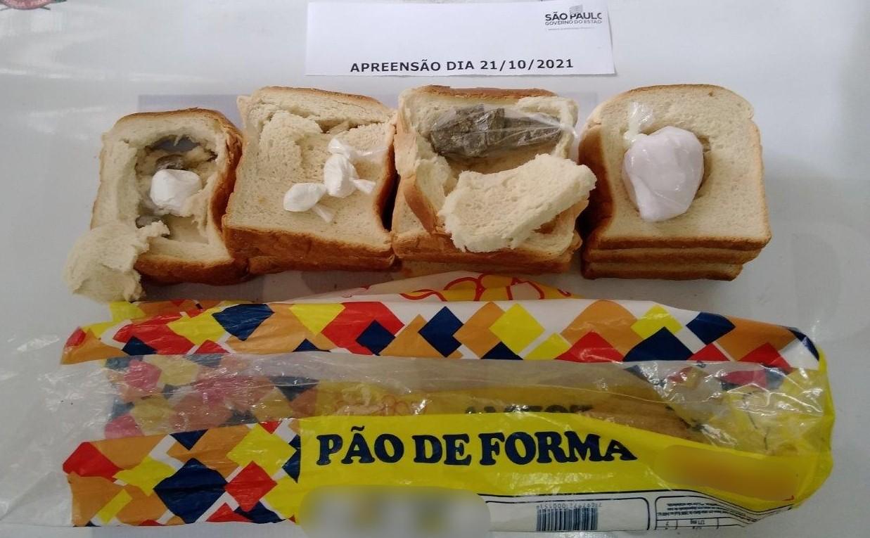Agentes encontram pão de forma recheado com porções de drogas em penitenciária de Itapetininga