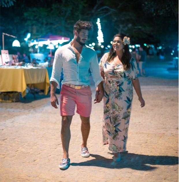 Fabiana Karla e Diogo Mello (Foto: Bruno Bezerra)