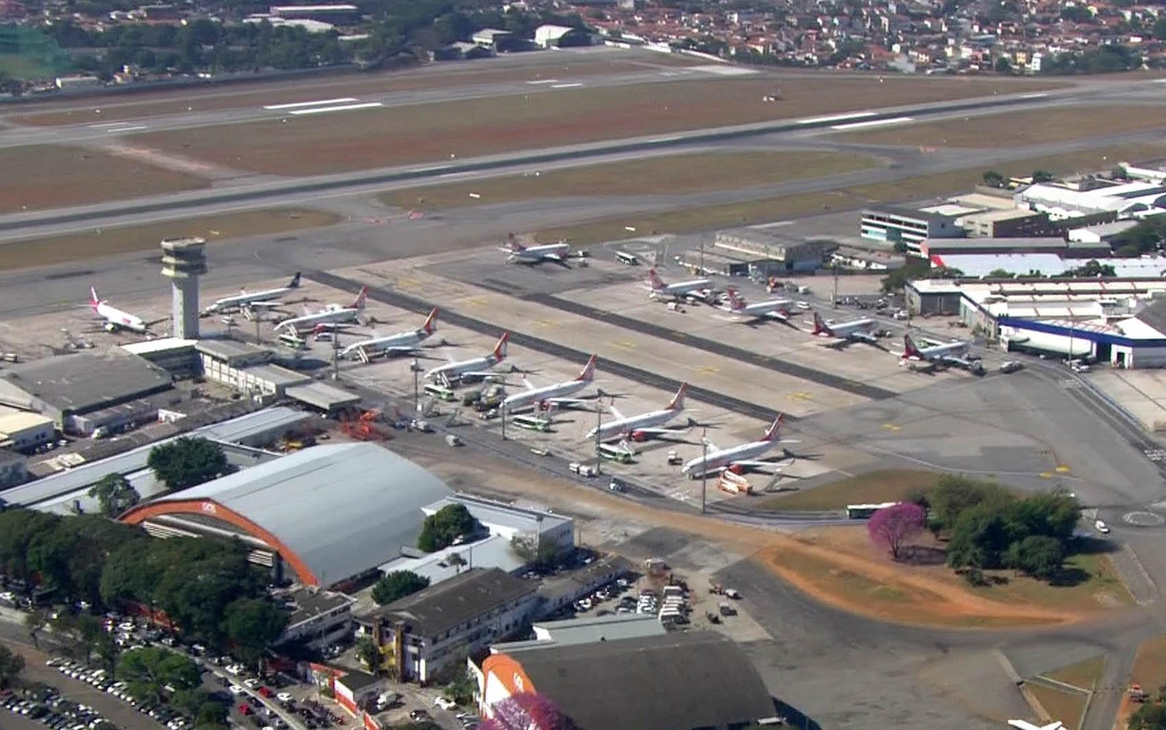 Confins, na Grande BH, tem atrasos devido a problema em aeroporto de São Paulo