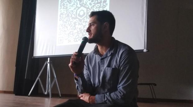 Eduardo Araujo durante o ENEJ 2019 (Foto: Adriano Lira)