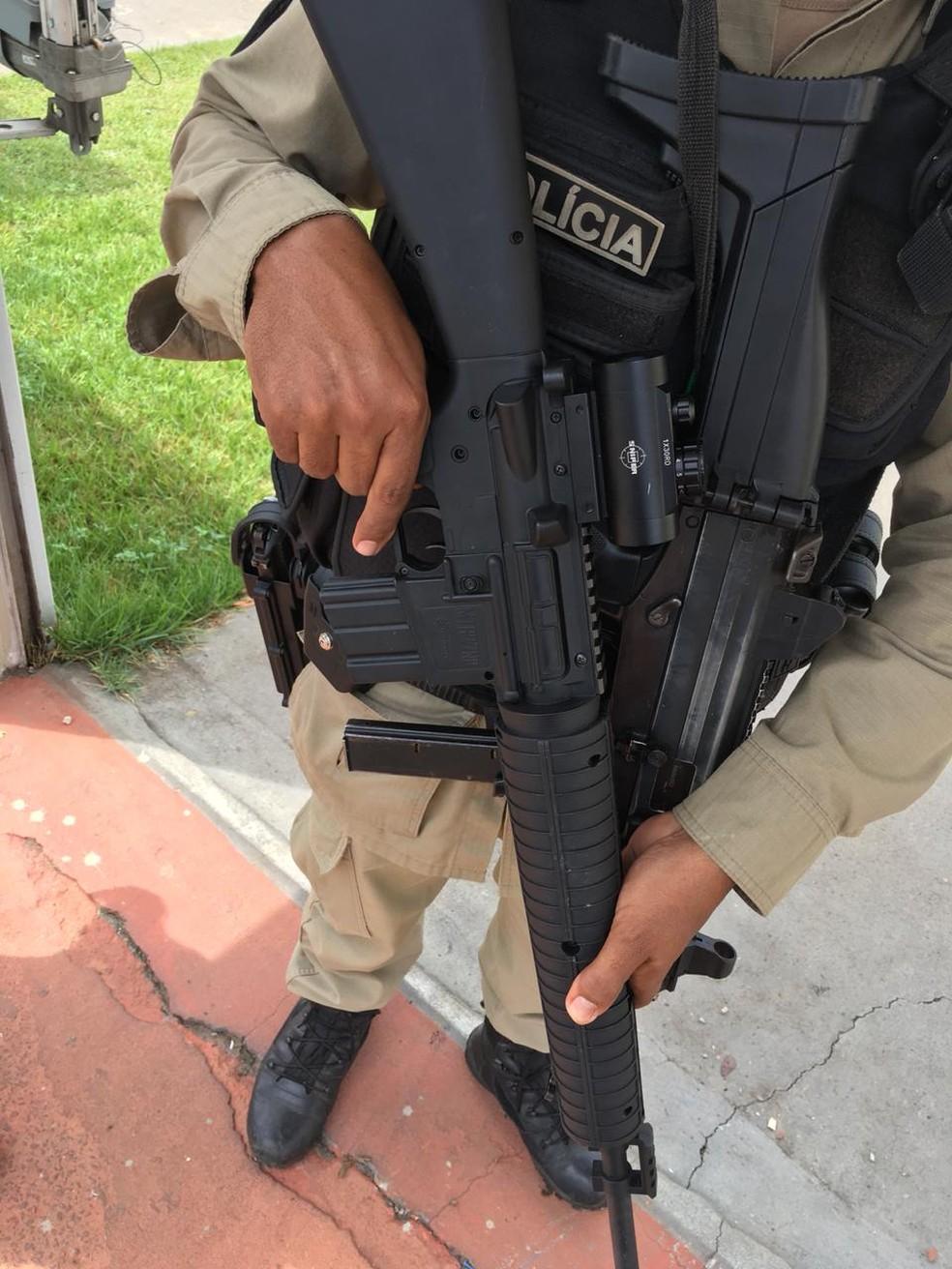whatsapp image 2018 11 01 at 14.48.02 - Médico é preso ao ameaçar advogada com fuzil de brinquedo após reclamação de som alto