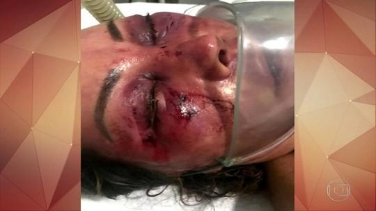 Mulher é espancada no Rio, e jovem é preso em flagrante
