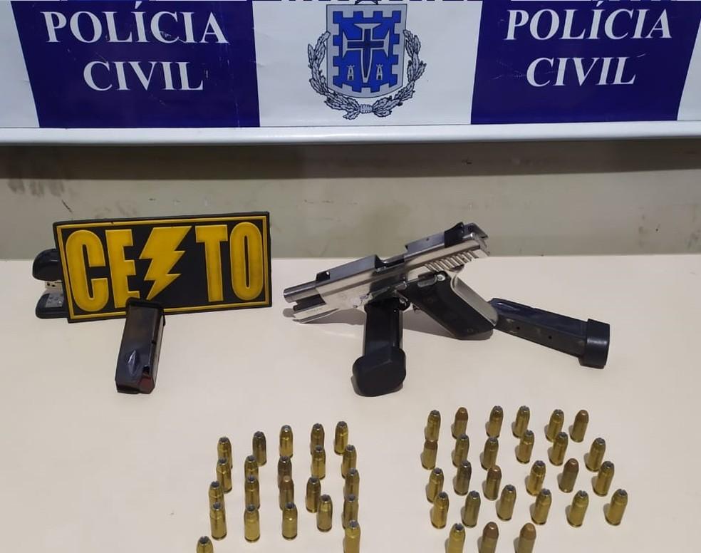 Líder de organização criminosa é preso em Santo Antônio de Jesus, Recôncavo da Bahia — Foto: Foto: SSP/ Divulgação