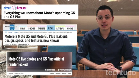 Moto G5, G5 Plus e módulos para Moto Z: o que esperar da Motorola na MWC