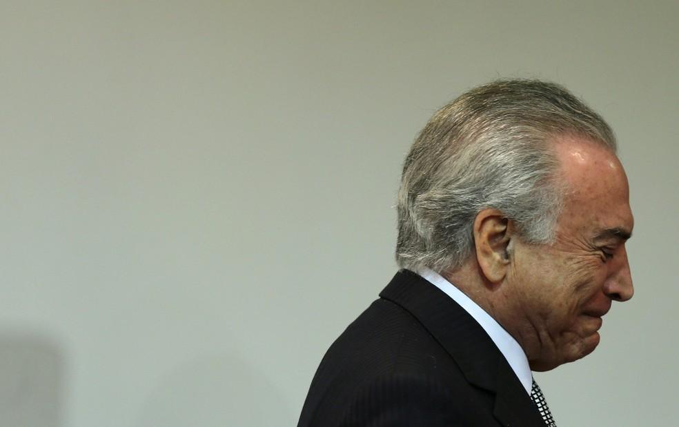 O presidente Michel Temer (Foto: Reuters)