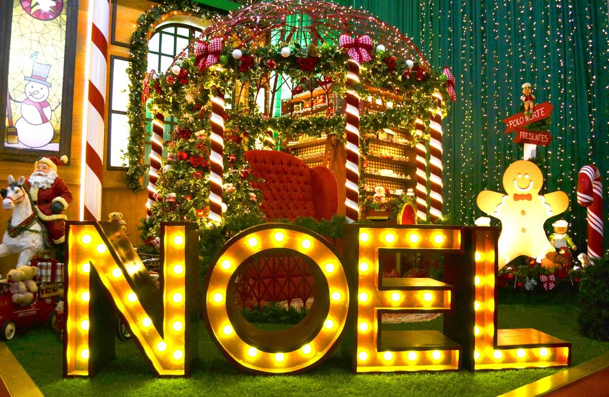 Holambra recebe exposição de Natal com Papai Noel gigante e atrações musicais