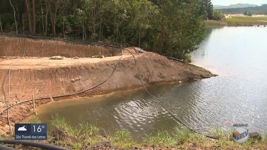 Obras de reparo em barragem de rejeitos de lixo nuclear são concluídas na INB, em Caldas, MG