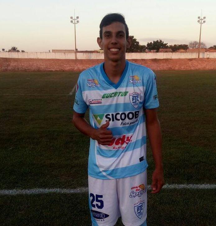 Thaillan atuou na base do Ji-Paraná e também o Real Ariquemes (Foto: Divulgação Facebook)