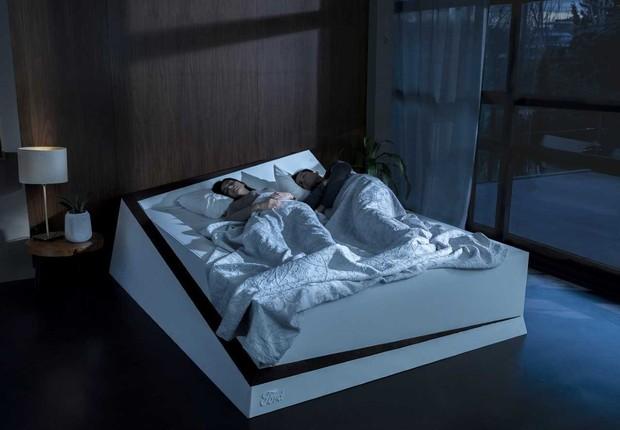 Lane-Keeping Bed, cama inteligente da Ford (Foto: Divulgação)