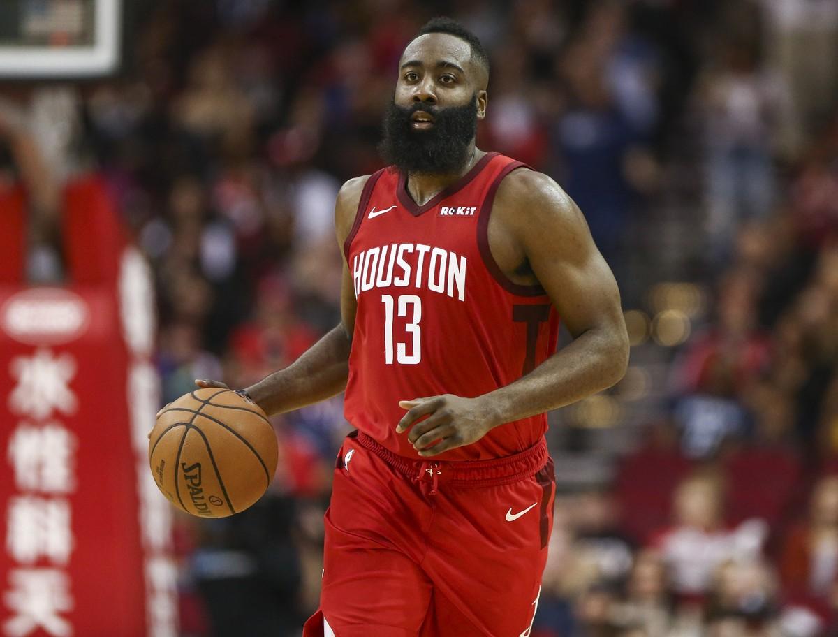 686753f2995 James Harden igualando marca de Michael Jordan e Kobe é o destaque da NBA no  Réveillon