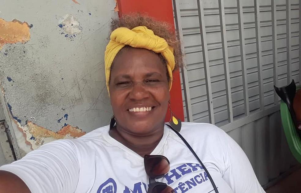 Agente de saúde Marizete Pires criou rede de acolhimento para mulheres em situações de abuso — Foto: Arquivo pessoal