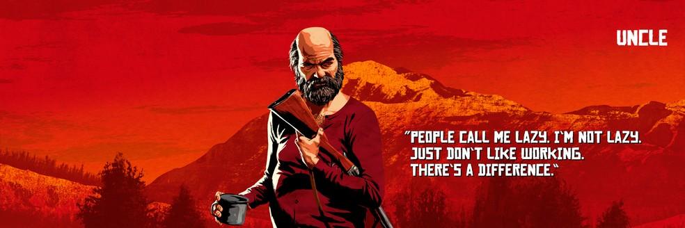 Uncle, de Red Dead Redemption 2 — Foto: Divulgação/Rockstar