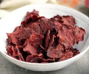 Como fazer chips de beterraba