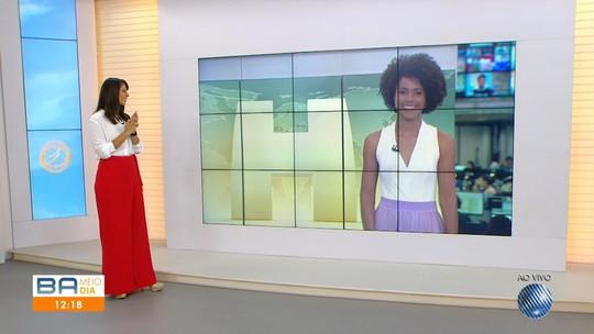 Maria Júlia Coutinho estreia na apresentação do Jornal Hoje, nesta segunda-feira