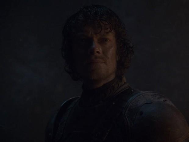 Theon Greyjoy n'A Batalha de Winterfell (Foto: reprodução)
