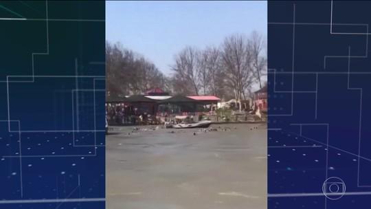 Naufrágio de balsa mata 79 no Iraque