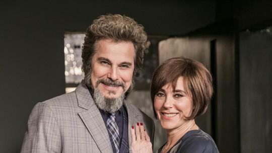 Carmen e Dom Sabino: relembre os melhores momentos do casal 'Carmino', em 'O Tempo Não Para'