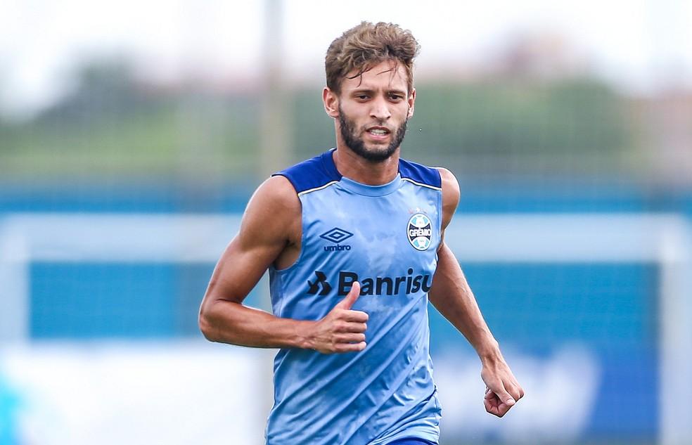 Juninho Capixaba, lateral do Grêmio — Foto: Lucas Uebel / Grêmio, DVG