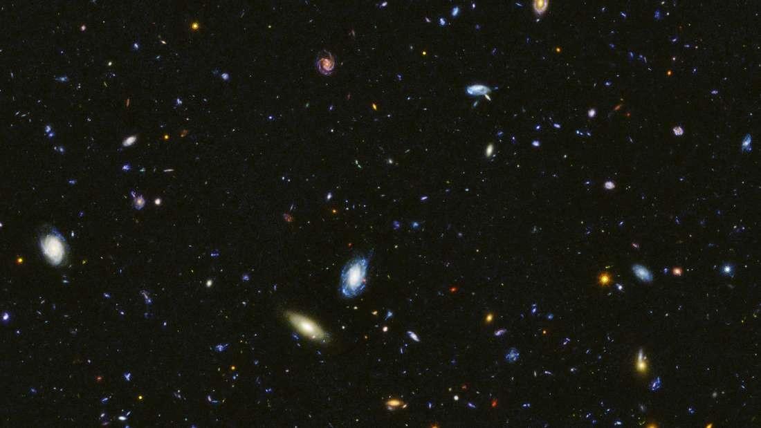 Registro feito pelo telescópio espacial Hubble  (Foto: Divulgação/ NASA e ESA)