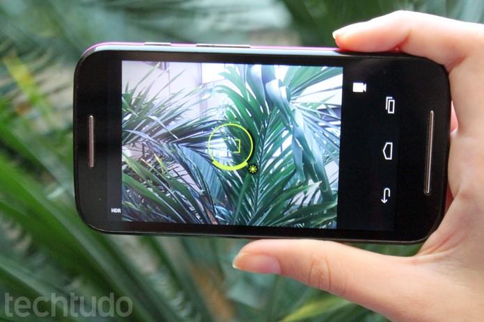 Câmera da linha Moto da Motorola é atualizada e ganha recurso de controle de luz (Foto: Carol Danelli/TechTudo)
