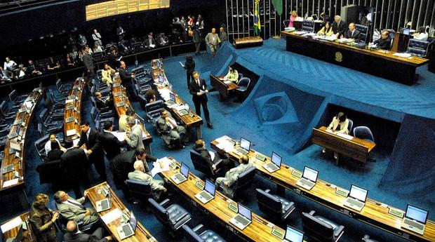 Câmara dos Deputados aprovou o projeto na quarta-feira, enquanto o país estava de luto pela perda da equipe de futebol Chapecoense em um acidente aéreo (Foto: Wilson Dias/ABr)