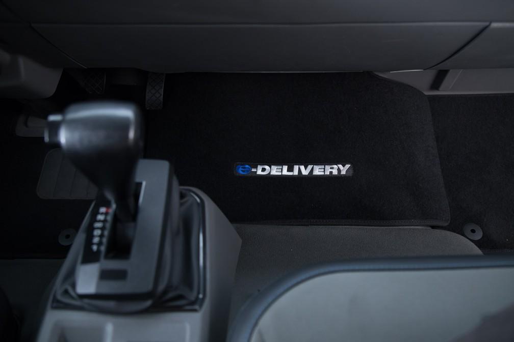 Câmbio automático do Volkswagen e-Delivery (Foto: Divulgação)