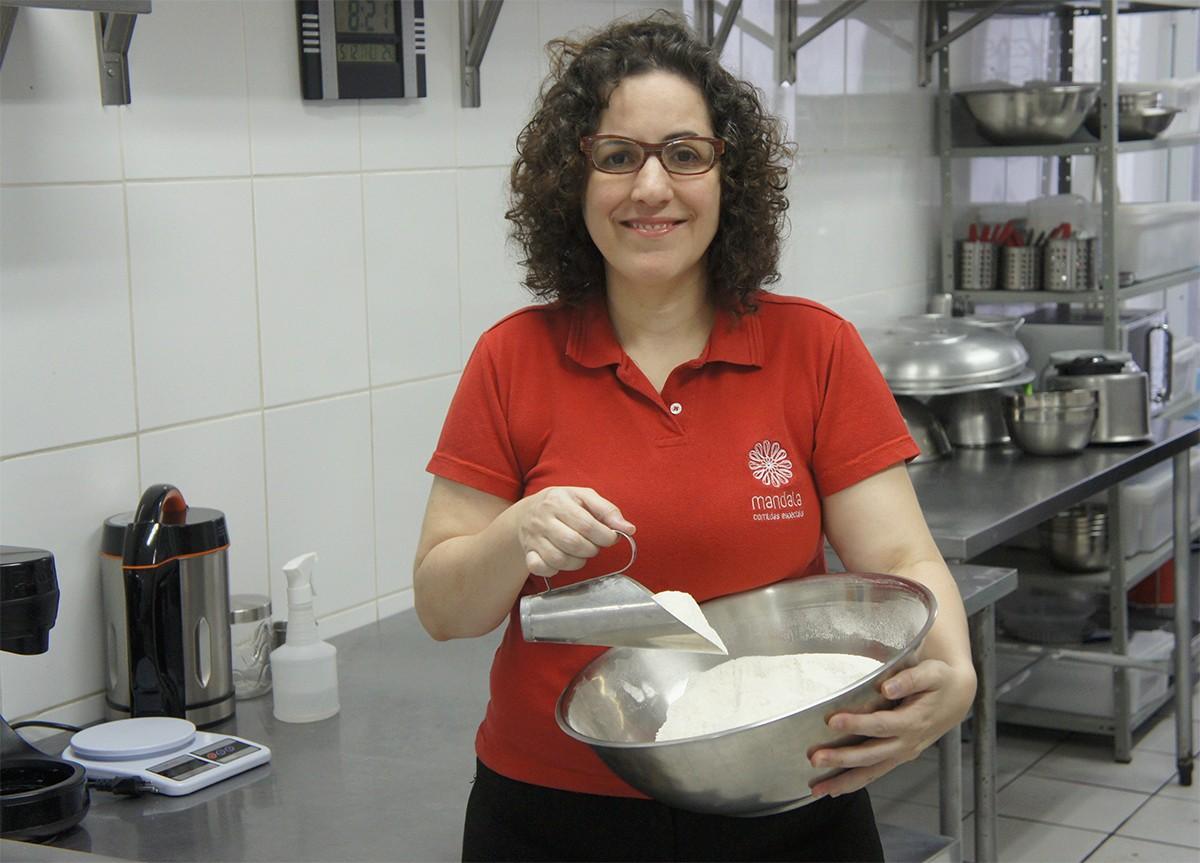 Dificuldade com restrição de alimentos motivou Adriana Fernandes a criar a Mandala (Foto: Divulgação)
