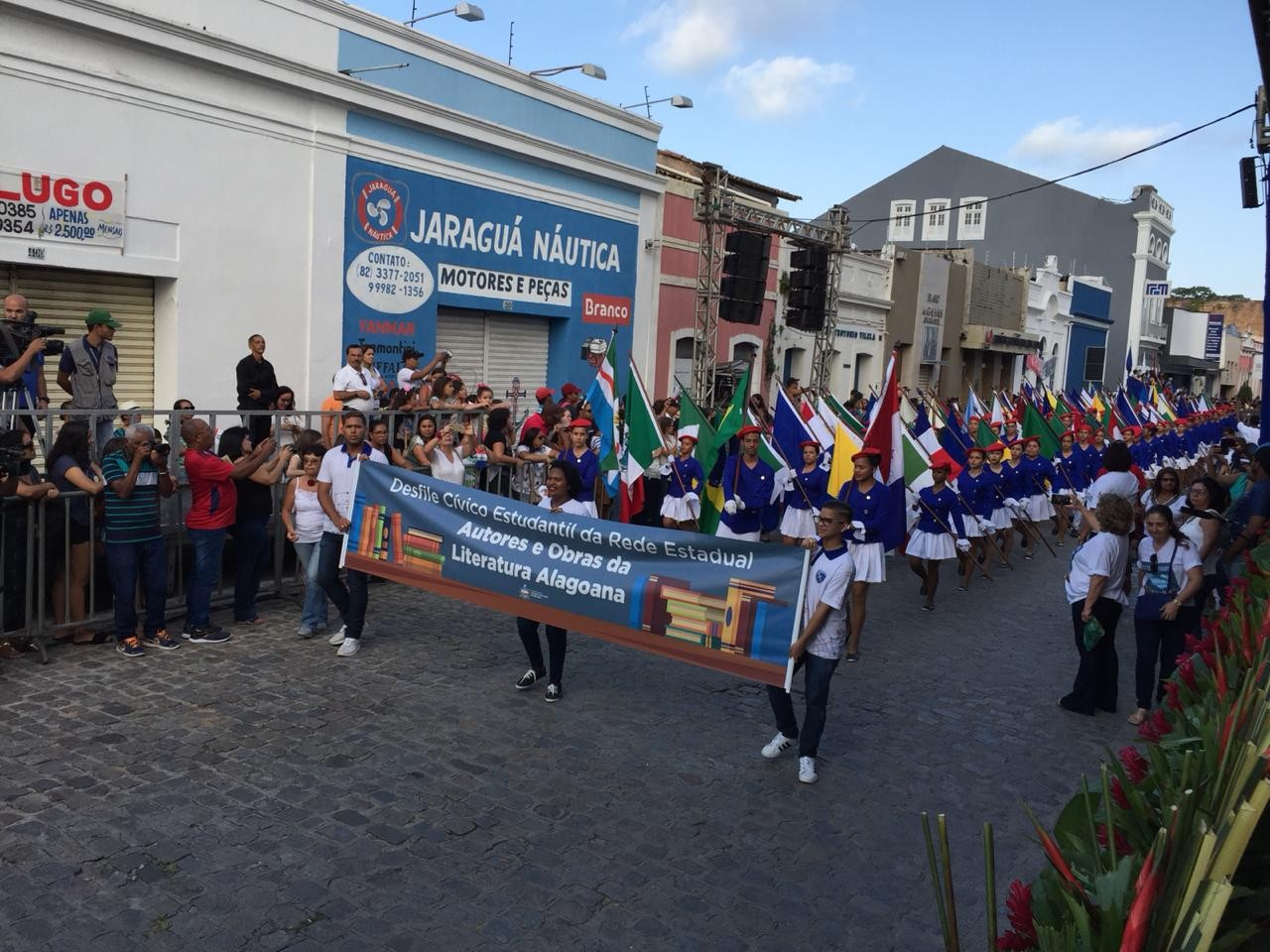 Trânsito do bairro de Jaraguá será modificado para desfile cívico de Emancipação Política de Alagoas - Notícias - Plantão Diário