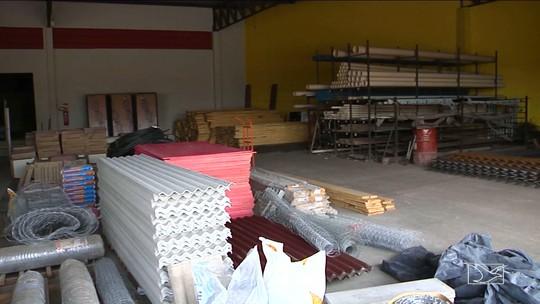 Comércio de material de construção sofre queda de vendas em Caxias