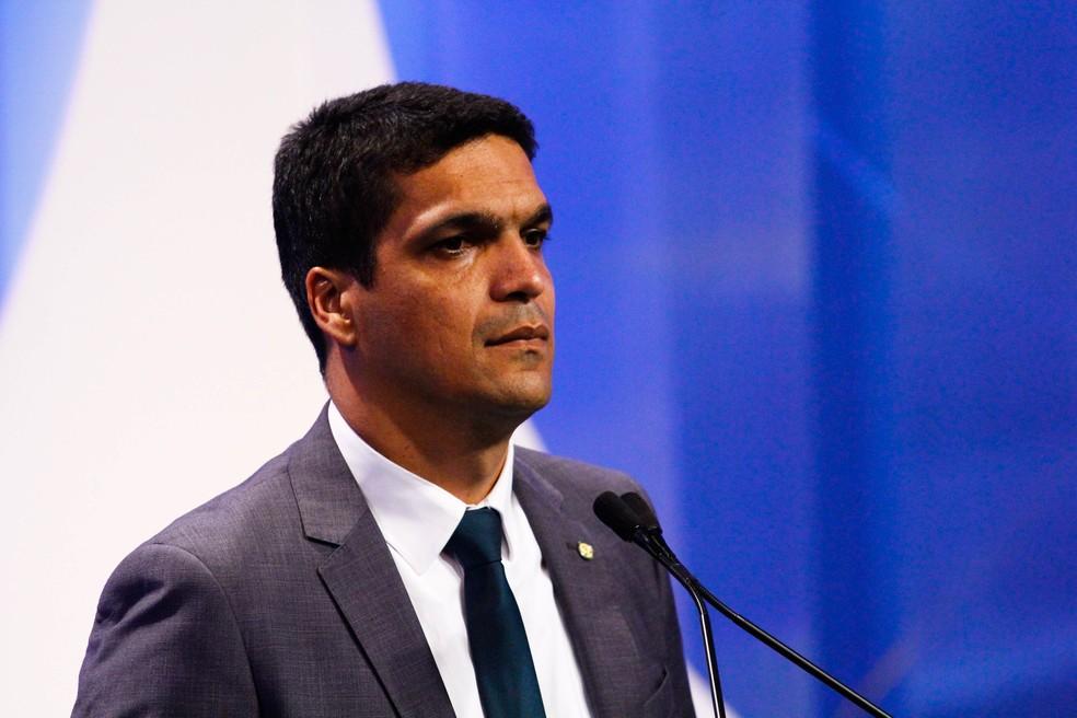 Cabo Daciolo, candidato a presidente — Foto: ALOISIO MAURICIO/FOTOARENA/ESTADÃO CONTEÚDO