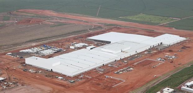 Fábrica da Honda em Itirapina  (Foto: Divulgação)