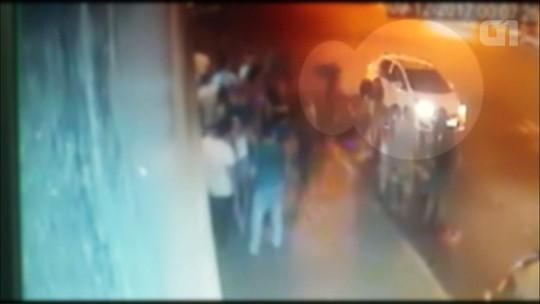 Nove ficam feridos em tentativa de homicídio em Campo Mourão; VÍDEO