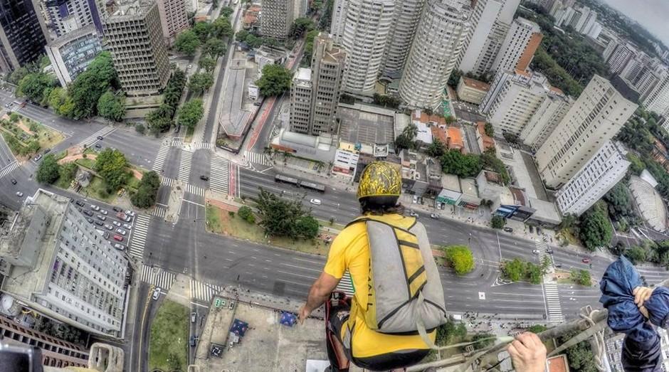 A GZeroTV se especializou em imagens de esportes aéreos  (Foto: Divulgação)
