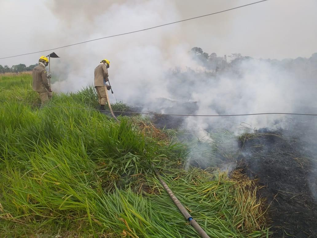 Fogo atinge área perto de rodoviária e paralisa jogo por alguns minutos no Acre - Notícias - Plantão Diário