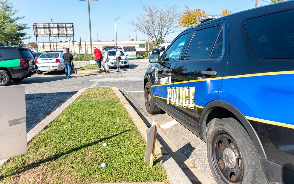 Descoberta foi feita pela polícia de Baltimore — Foto: Baltimore Police Department