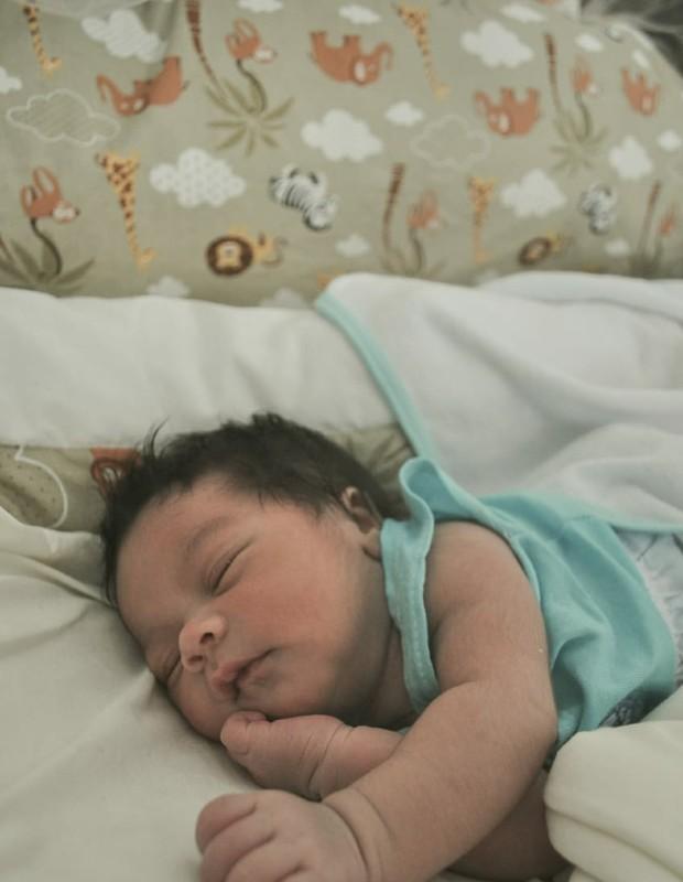 Kael, filho de Karina Ferrari (Foto: Arquivo pessoal)