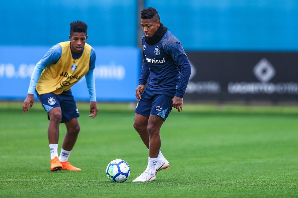 Marinho terá chance de atuar por 90 minutos (Foto: Lucas Uebel / Grêmio F.B.P.A.)