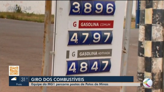 Reportagem faz giro nos postos de combustíveis de Patos de Minas