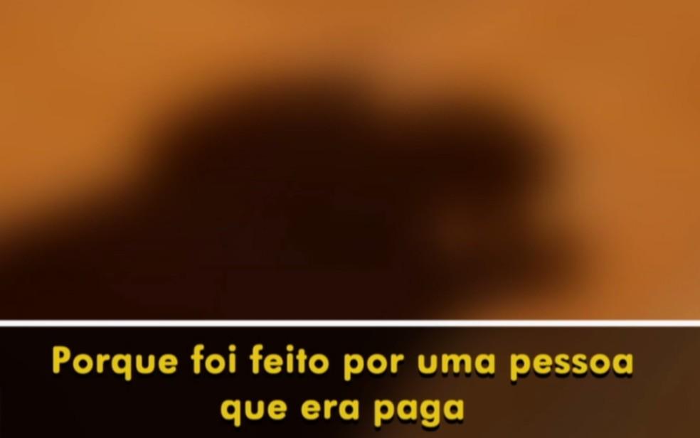 Mulher que ajudou meninas estupradas em Rio Verde se revolta com o caso — Foto: Reprodução/TV Anhanguera