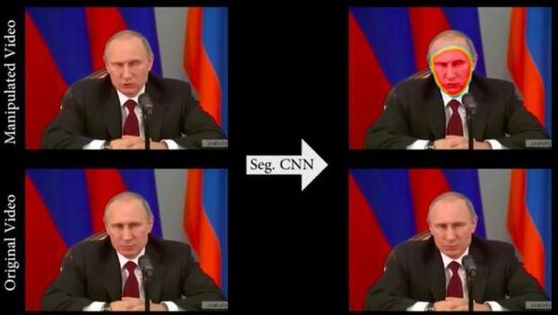 Manipulação de vídeos pode ser uma nova arma de propaganda política, alertam especialistas (Foto: FACEFORENSICS/BBC News Brasil)