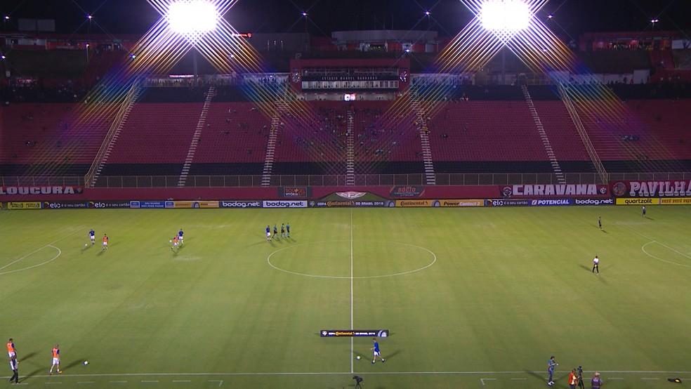 2bd67027f6ba1 Vitória x Bahia de Feira  ingressos para partida de sábado estão à ...