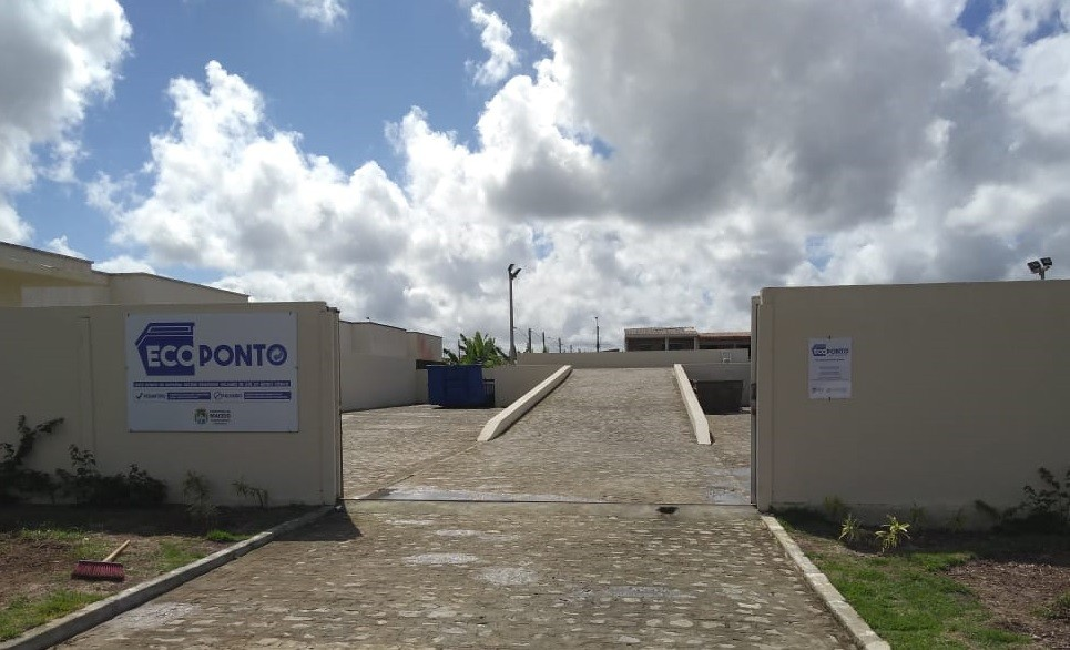 Novo Ecoponto passa a funcionar na Cidade Universitária, Maceió