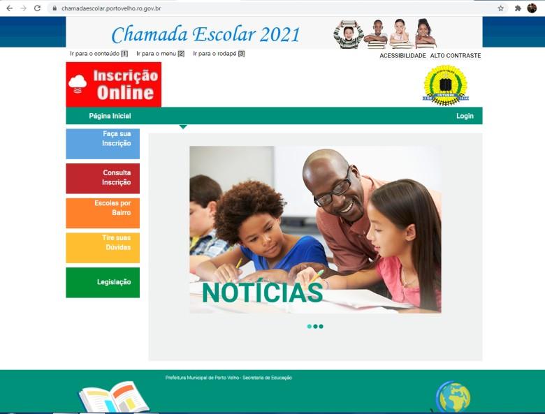 Prefeitura de Porto Velho adia segunda fase da chamada escolar