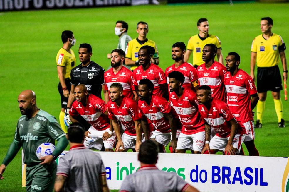 CRB passou pelo Palmeiras na fase anterior — Foto: Ailton Cruz/Gazeta de Alagoas